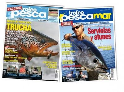portadas trofeo pesca, webs de pesca, material de pesca, ofertas de pesca, noticias de pesca