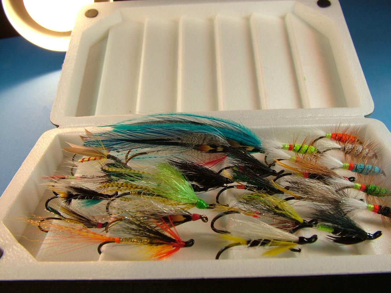 moscas salmón, pesca salmón a mosca, cotos de salmón, montaje de salmón, r´kios salmoneros