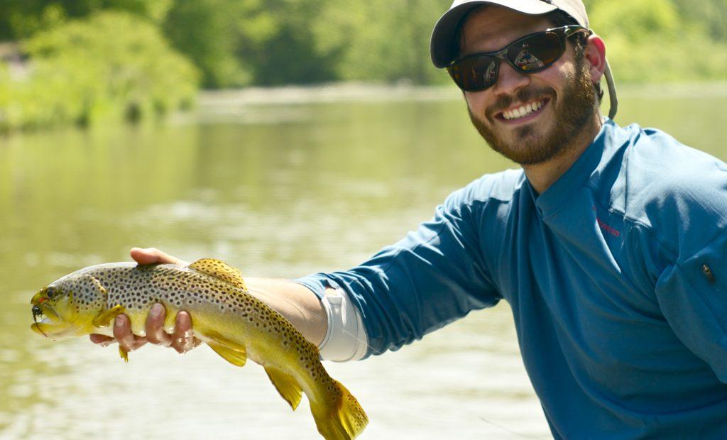 trucha Public Herald, pesca, cosas curiosas