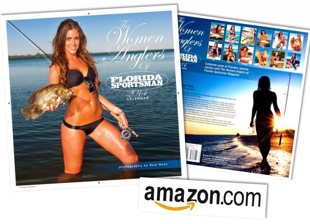 Calendario chicas pescando Florida Sportsman.