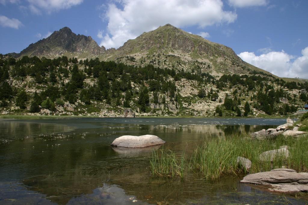 Lago de Pessons, Andorra, pesca, mosca, trucha