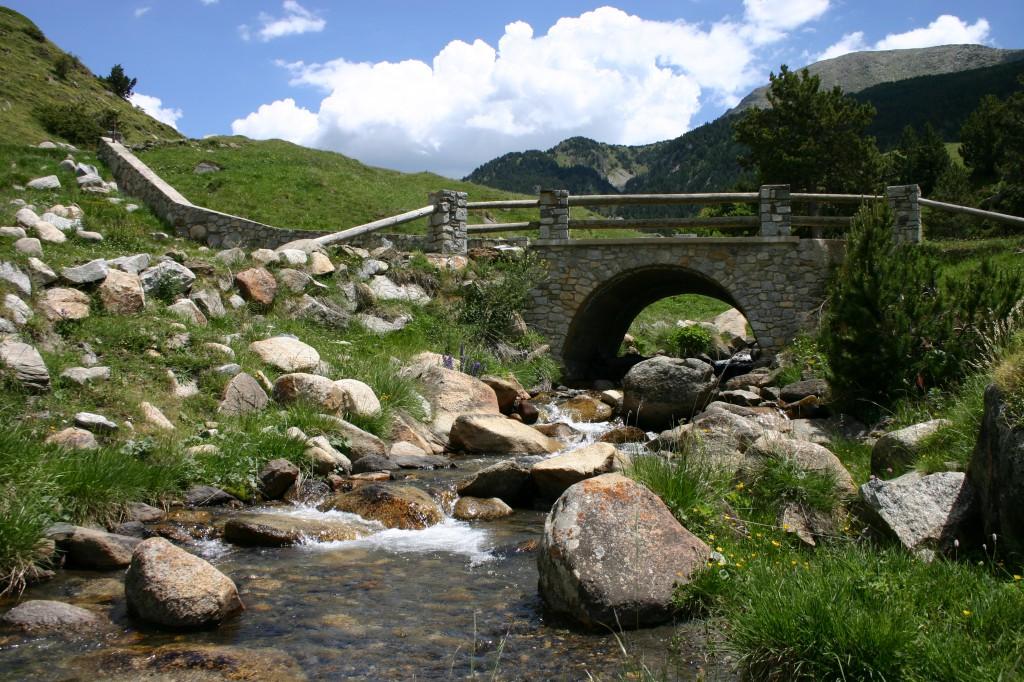pesca, andorra, ríos