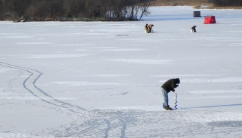 ice fishing, tips, safety, video
