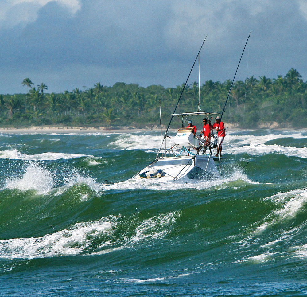 fotos pesca, Florida Sports Fishing Magazine, pesca, imágenes espectaculares, barco, olas, Florida