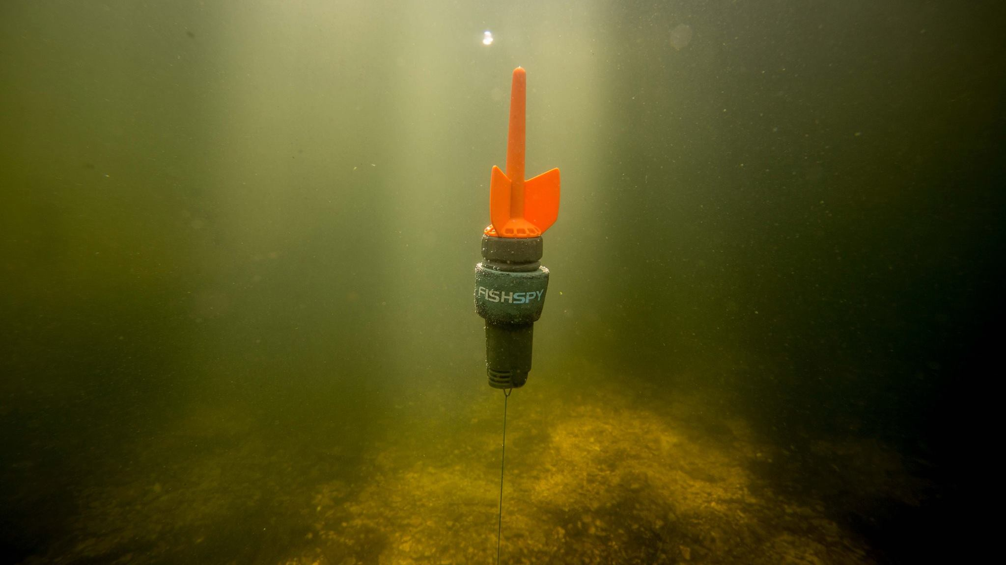 FishSpy, cámara para grabar bajo el agua, grabar peces bajo el agua, cámara pesca, pesca, app de pesca, carpfishing