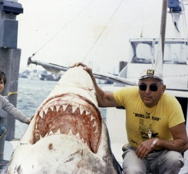 capitán Frank Mundus, récord IGFA, pez más grande del mundo, pesca, tiburón blanco más grande pescado