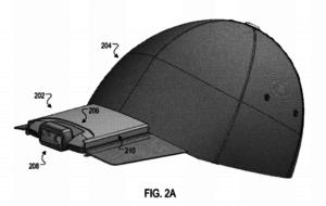 gorra patentada por Google, visera, pesca, cámara gorra Google