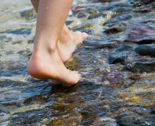 pie de inmersión, lesión de pie, lesión pescador, pesca, consejos.