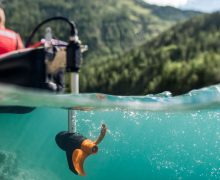 Torqueedo Ultraligh 403, motor para kayak, pescar, pesca en kayak, navegar en kayak