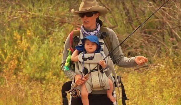 Pippa y Els se van de pesca, vídeo de pesca, video viral, facebook, Día de la Madre, Orvis, mujer, pesca a mosca