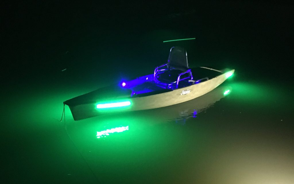luces kayak, Yak Power