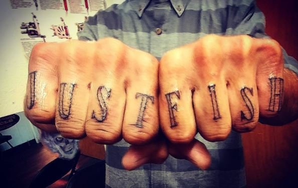 tatujae de pesca, pesca, tatoo, Instagram