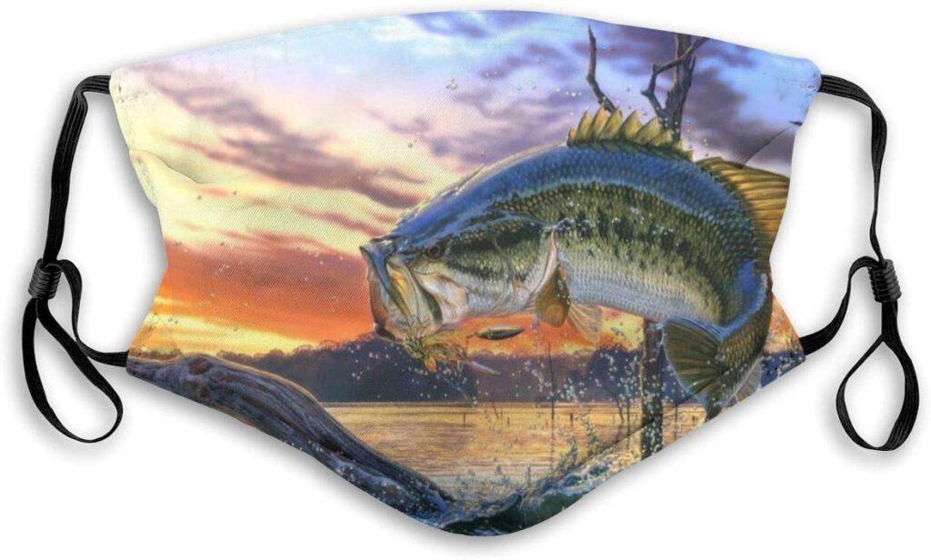mascarilla, back bass, pesca covis, pesca