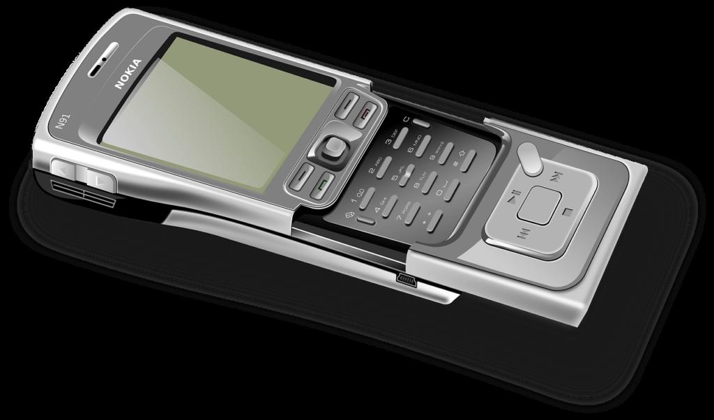 Teléfono Nokia encontrado en el interior de un pez