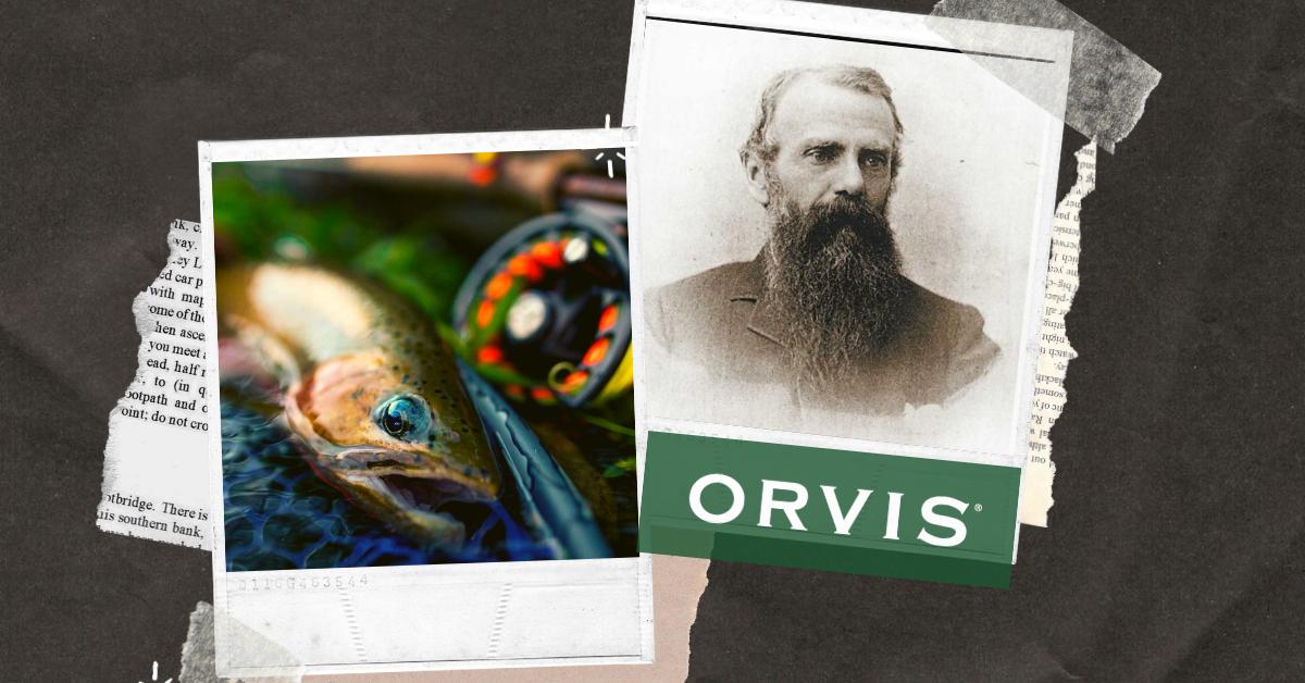 Orvis, historia, pesca a mosca