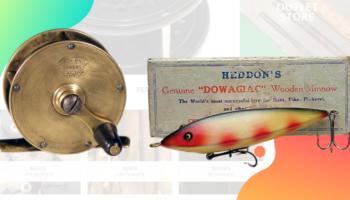 coleccionismo de pesca, carretes de pesca antiguos, cañas de pesca antiguas,