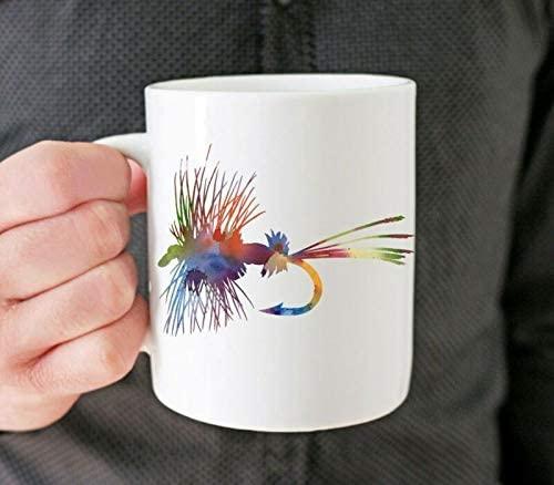 Taza de café, pesca con mosca, amazon, comprar