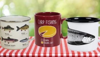 tazas originales pesca, comprar en Amazon